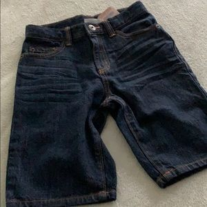 Crazy 8 boy's size 7 Jean shorts NEW with tag